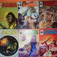 Cómics: EL PLANETA DE LOS MONOS. COMPLETA, VOLUMEN 1. SEIS NUMEROS. EDICIONES VERTICE 1979. Lote 254892935