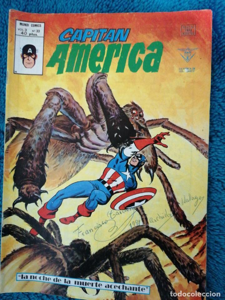 CAPITÁN AMÉRICA VÉRTICE (Tebeos y Comics - Vértice - Capitán América)