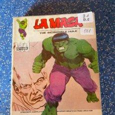 Cómics: VERTICE VOLUMEN 1 LA MASA NUMERO 31 BUEN ESTADO. Lote 255389860