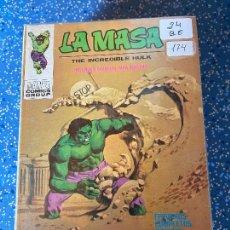 Cómics: VERTICE VOLUMEN 1 LA MASA NUMERO 24 BUEN ESTADO. Lote 255390070