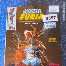 Cómics: VERTICE VOLUMEN 1 CORONEL FURIA NUMERO 3 MUY BUEN ESTADO. Lote 255508600