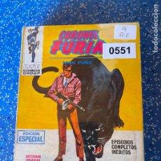 Cómics: VERTICE VOLUMEN 1 CORONEL FURIA NUMERO 9 BUEN ESTADO. Lote 255509030