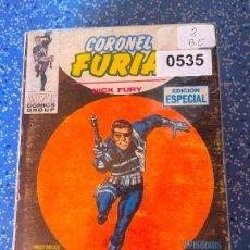Cómics: VERTICE VOLUMEN 1 CORONEL FURIA NUMERO 2 BUEN ESTADO. Lote 255509110
