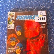 Cómics: VERTICE VOLUMEN 1 PATRULLA X NUMERO 6 MUY BUEN ESTADO. Lote 255512250