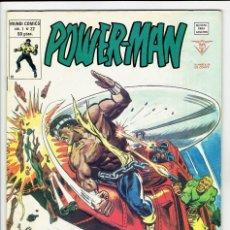 Cómics: POWER MAN VOL. 1 - Nº 22 - ¡ LA MARCA DE LA MAZA ! VERTICE 1979 ''BUEN ESTADO''. Lote 255668360