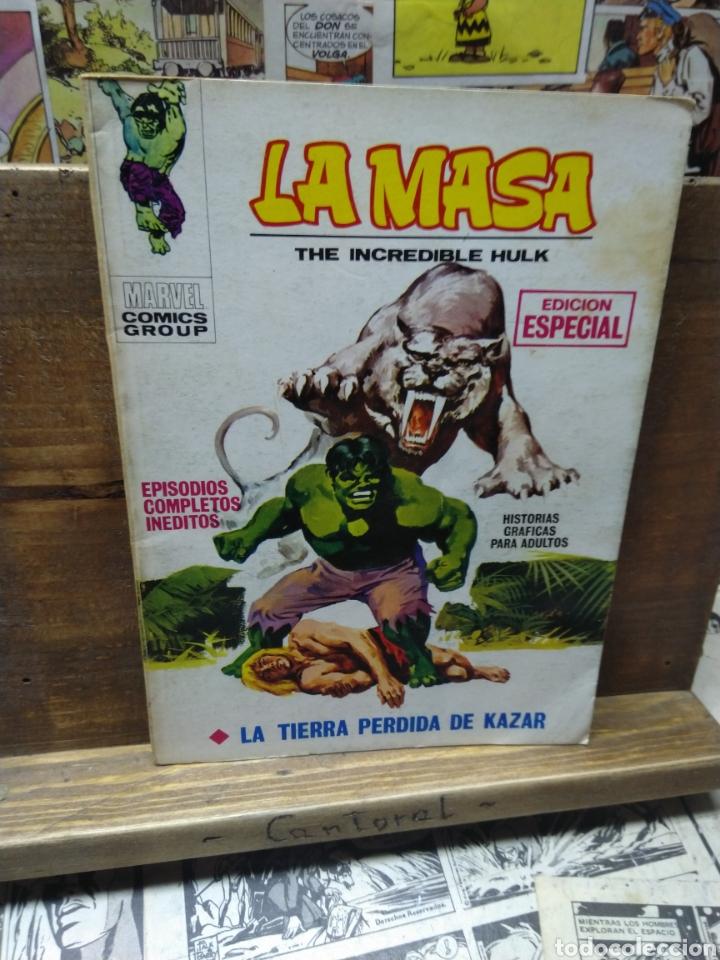 LA MASA. HULK. LA TIERRA PÉRDIDA DE KAZAR. 4 (Tebeos y Comics - Vértice - La Masa)
