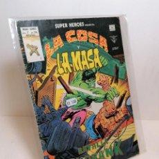 Cómics: COMIC LA COSA Y LA MASA: BATALLA EN BURBANK EDIT. VERTICE. Lote 255953995