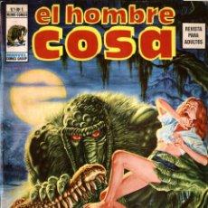 Cómics: EL HOMBRE COSA V.1-1 (VÉRTICE-MUNDI COMICS, 1975). Lote 255974570