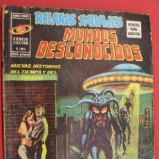 Cómics: RELATOS SALVAJES. MUNDOS DESCONOCIDOS. CIENCIA FICCION VOLUMEN 1 Nº 3. Lote 257305120