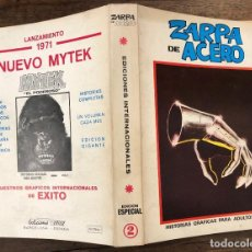 Cómics: ZARPA DE ACERO. EXTRA. Nº 2. VERTICE, 1969. Lote 257446340