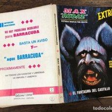 Cómics: MAX AUDAZ. EXTRA. EL FANTASMA DEL CASTILLO. Nº 11. VERTICE, 1968. Lote 257447125