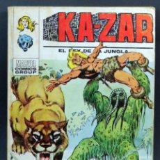 Cómics: MARVEL COMICS KAZAR Nº 4 LA MARCA DEL HOMBRE COSA EDICIONES VÉRTICE TACO 1973. Lote 257473020