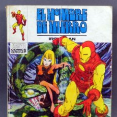 Cómics: MARVEL COMICS IRON MAN HOMBRE HIERRO Nº 26 JUEGO DE MUERTE EDICIONES VÉRTICE TACO 1973. Lote 257476175