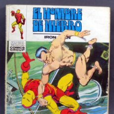 Cómics: MARVEL COMICS IRON MAN HOMBRE HIERRO Nº 28 EL ATAQUE DE NAMOR EDICIONES VÉRTICE TACO 1973. Lote 257476595