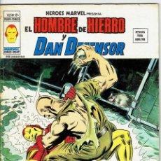 Cómics: EL HOMBRE DE HIERRO Y DAN DEFENSOR VOL. 2 Nº 25 - LA NOCHE DE LA BOMBA ANDANTE - VERTICE 1974. Lote 257513905