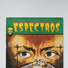 Cómics: COMIC TERROR ESPECTROS Nº1 - EDICIONES VERTICE - 1972 - MUY BUEN ESTADO. Lote 257538850