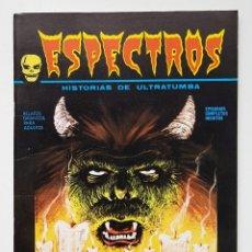 Cómics: COMIC TERROR ESPECTROS Nº 6 - EDICIONES VERTICE - 1972 - V-1. Lote 257542125