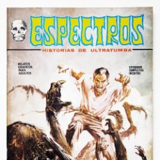 Cómics: COMIC TERROR ESPECTROS Nº 7 - EDICIONES VERTICE - 1972 - V-1 - MUY BUEN ESTADO. Lote 257542890