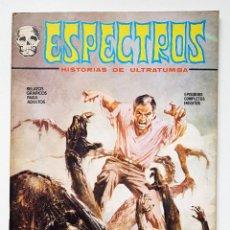 Cómics: COMIC TERROR ESPECTROS Nº 7 - EDICIONES VERTICE - 1972 - V-1 - MUY BUEN ESTADO. Lote 257543010
