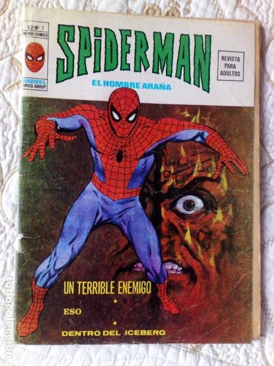 SPIDERMAN V2 COMPLETA Nº 1 AL 10. MUY DIFÍCIL VERTICE (Tebeos y Comics - Vértice - V.2)