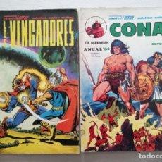 Cómics: ANUAL 80 - CONAN + LOS VENGADORES (2 TOMOS - COMPLETA) MUNDI COMICS / VERTICE1979. Lote 257607250