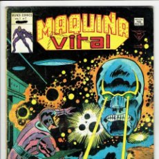 Cómics: MÁQUINA VITAL VOL. 1 - Nº 2 - MUNDI COMICS ¡ VALE-POR-DIEZ ! LA MÁQUINA MALIGNA - VERTICE1980. Lote 257617460