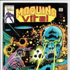 Cómics: MÁQUINA VITAL VOL. 1 - Nº 2 - MUNDI COMICS ¡ VALE-POR-DIEZ ! LA MÁQUINA MALIGNA - VERTICE1980. Lote 257617750