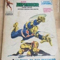 Cómics: LA FURIA DE DAN DEFENSOR Nº 10 EDICIONES VÉRTICE AÑO 1970. Lote 257620480