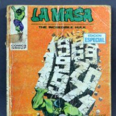 Cómics: MARVEL COMICS LA MASA Nº 16 TEMPESTAD TIEMPO SIDERAL EDICIONES VÉRTICE TACO 1971. Lote 257830695