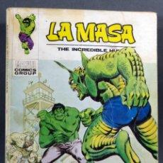 Cómics: MARVEL COMICS LA MASA Nº 34 MUERTE EN LAS ALTURAS EDICIONES VÉRTICE TACO 1974. Lote 257831220