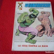 Comics : LOS 4 FANTASTICOS Nº 56 LA COSA CONTRA LA MASA TACO VERTICE. Lote 258246635