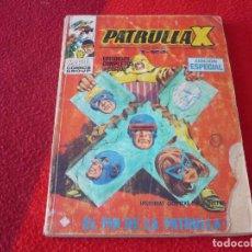 Cómics: PATRULLA X Nº 20 EL FIN DE LA PATRULLA X TACO VERTICE. Lote 258316135