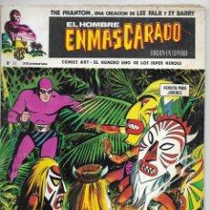 Cómics: HOMBRE ENMASCARADO, EL. Nº 36. VERTICE EL MONO BLANCO& LA BANDA GRIS & EL CRUCE DEL CANAL.. Lote 258775465