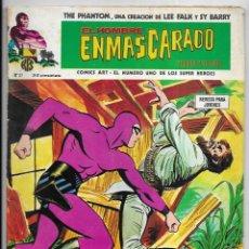 Cómics: HOMBRE ENMASCARADO, EL. Nº 37. VERTICE LA PROFESORA & LA MUCHACHA TIGRE & SECUESTRO EN LA JUNGL. Lote 258775945