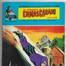 Cómics: HOMBRE ENMASCARADO, EL. Nº 43. VERTICE REGRESO ACCIDENTADO, NIDO E TIBURONES, PERLAS PROHIBIDAS. Lote 258778645