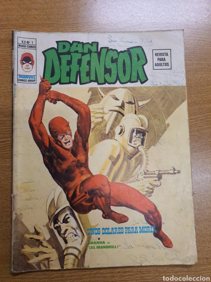 DAN DEFENSOR, VÉRTICE, VOL.2 NÚMERO 1 (Tebeos y Comics - Vértice - Dan Defensor)