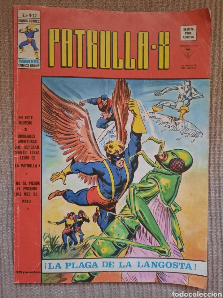 PATRULLA X LA PLAGA DE LA LANGOSTA (Tebeos y Comics - Vértice - Patrulla X)