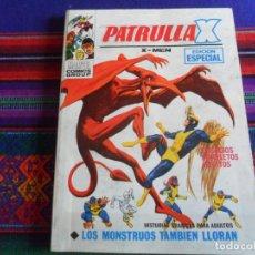 Cómics: VÉRTICE VOL. 1 PATRULLA X Nº 28 LOS MONSTRUOS TAMBIÉN LLORAN. 1971. 25 PTS. MUY BUEN ESTADO.. Lote 259885355