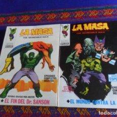 Cómics: VÉRTICE VOL. 1 LA MASA Nº 18. 1972. 25 PTS. REGALO Nº 22. MUY BUEN ESTADO Y DIFÍCIL.. Lote 259886530