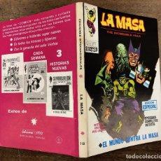 Cómics: LA MASA. EDICION ESPECIAL. Nº 18. EL MUNDO CONTRA LA MASA. VERTICE, 1972. Lote 260053150