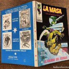 Cómics: LA MASA. EDICION ESPECIAL. Nº 17. EL COLOSO DEL ESPACIO. VERTICE, 1972. Lote 260053255