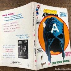 Comics: CAPITAN AMERICA. EDICION ESPECIAL. Nº 4. ESTA NOCHE MORIRE. VERTICE, 1969. Lote 260053470
