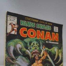 Cómics: COMICS VERTICE ESPECIAL SERIE RELATOS SALVAJES CONAN EL BARBARO VENDAVAL DE STYGIA, VOL 1 NUMERO 84. Lote 260319615