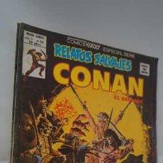 Cómics: COMICS VERTICE ESPECIAL SERIE RELATOS SALVAJES CONAN EL BARBARO EL CUCHILLO LLAMEANTE, VOL 1 Nº 75. Lote 260321640