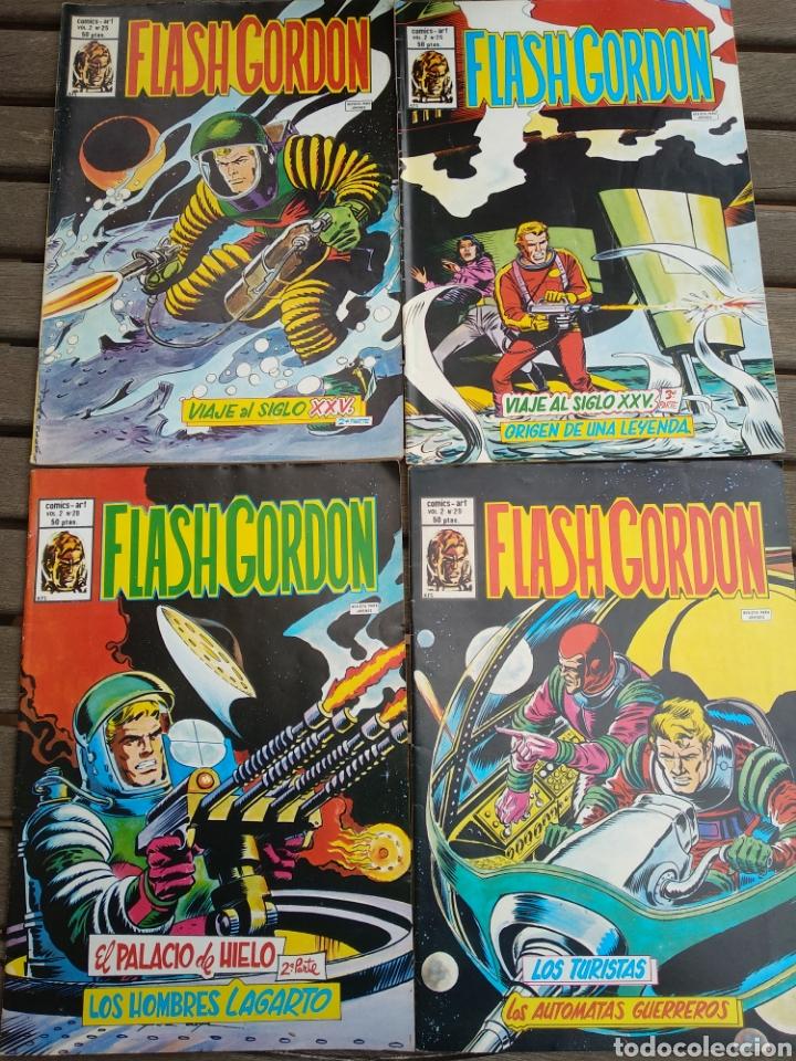 LOTE FLASH GORDON (Tebeos y Comics - Vértice - Flash Gordon)