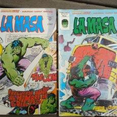 Cómics: LA MASA (HULK) 36 Y 41. Lote 260354850