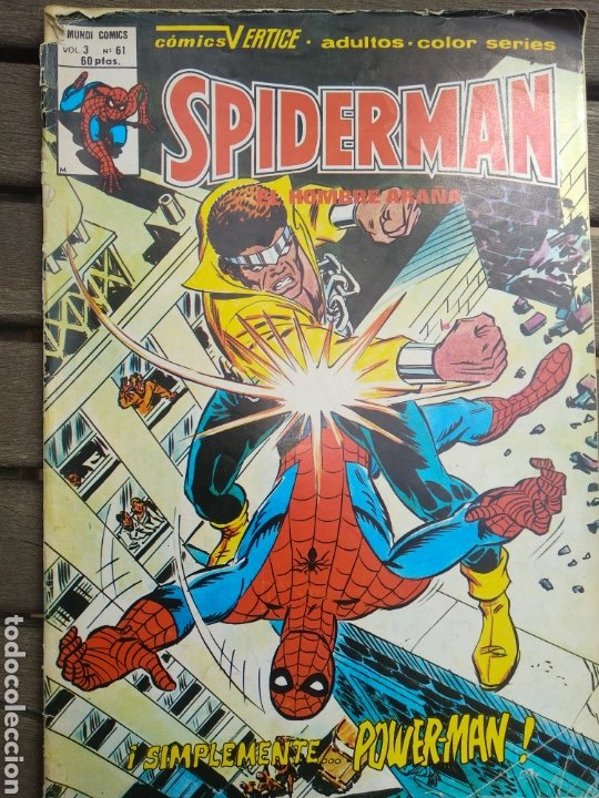 SPIDERMAN V3 61 (Tebeos y Comics - Vértice - V.3)