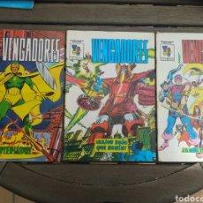 Cómics: VENGADORES 1,3 Y 4. Lote 260359210