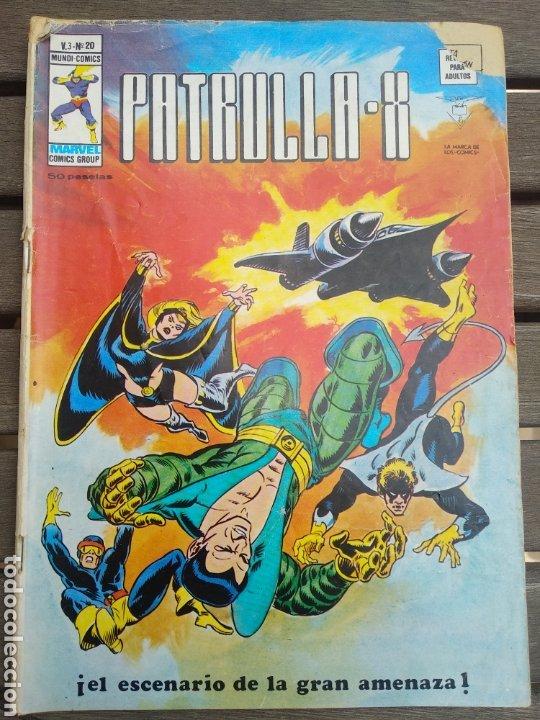 PATRULLA X V3 20 (Tebeos y Comics - Vértice - Patrulla X)