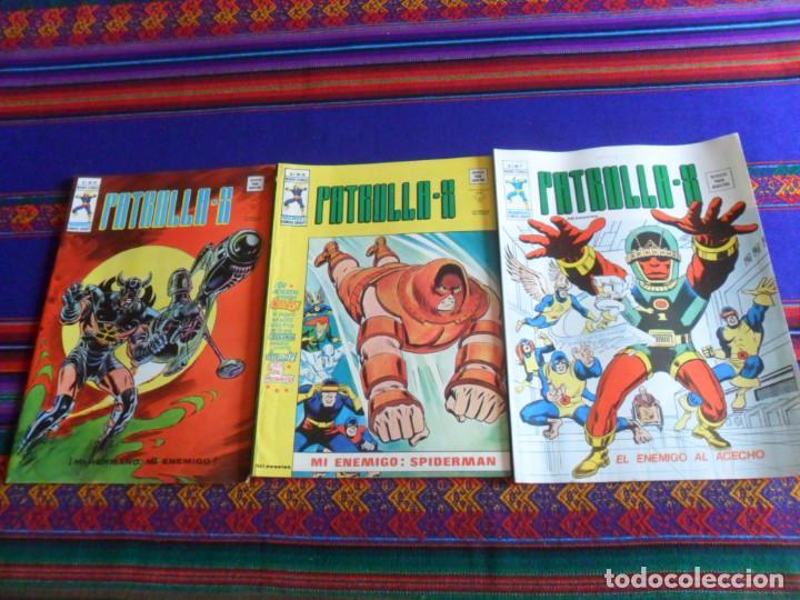 MUY BUEN ESTADO, VÉRTICE VOL. 3 PATRULLA X NºS 7, 16 Y 21. 1976. 35 PTS. (Tebeos y Comics - Vértice - Patrulla X)